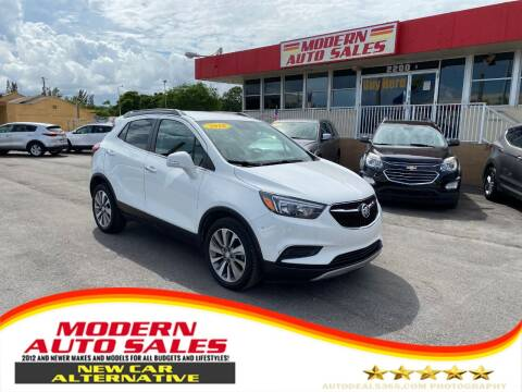 2018 Buick Encore for sale at Modern Auto Sales in Hollywood FL