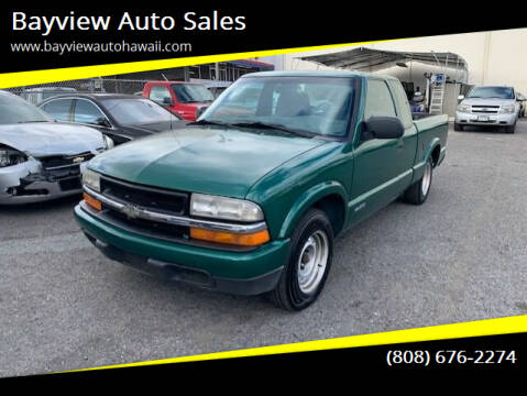 2000 Chevrolet S-10 for sale at Bayview Auto Sales in Waipahu HI