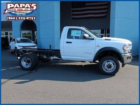 2020 RAM Ram Chassis 5500 for sale at Papas Chrysler Dodge Jeep Ram in New Britain CT