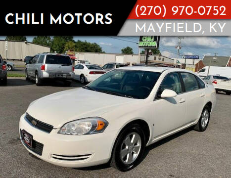 2008 Chevrolet Impala for sale at Chili Motors in Mayfield KY