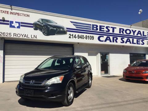 2011 Honda CR-V for sale at Best Royal Car Sales in Dallas TX