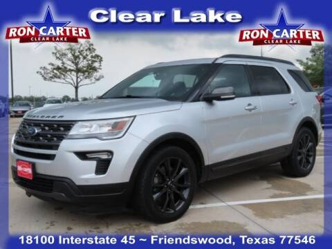 2018 Ford Explorer for sale at Ron Carter  Clear Lake Used Cars in Houston TX