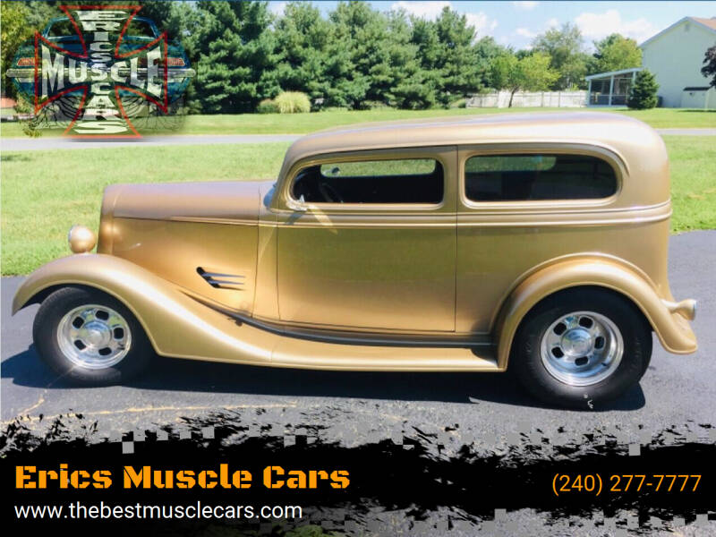 1935 Chevrolet Tudor for sale at Erics Muscle Cars in Clarksburg MD