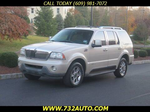 2005 Lincoln Aviator for sale at Absolute Auto Solutions in Hamilton NJ