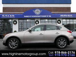 2008 Infiniti EX35 for sale at Highline Group Motorsports in Lowell MA