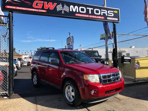 2011 Ford Escape for sale at GW MOTORS in Newark NJ