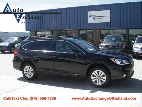 2017 Subaru Outback for sale at Auto Exchange Of Holland in Holland MI