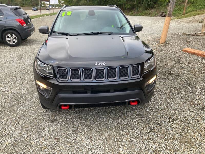 2018 Jeep Compass 4x4 Trailhawk 4dr SUV - New Alexandria PA