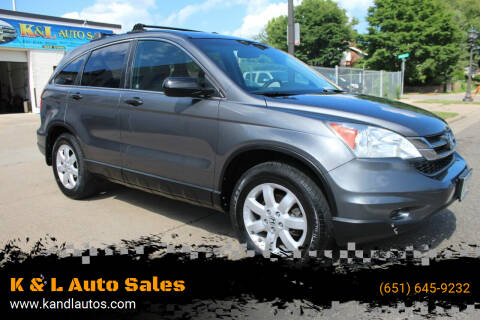 2011 Honda CR-V for sale at K & L Auto Sales in Saint Paul MN