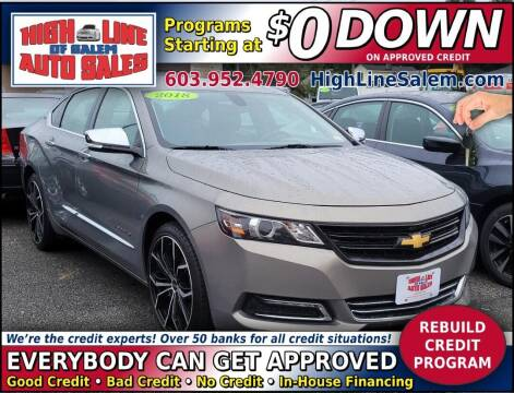 2018 Chevrolet Impala for sale at High Line Auto Sales of Salem in Salem NH