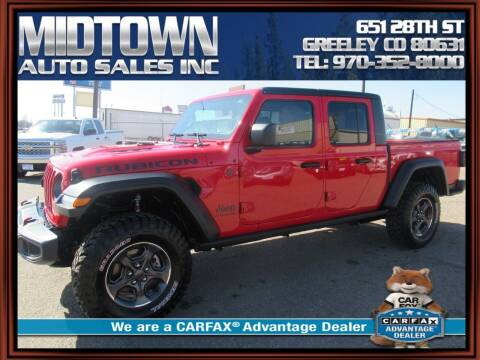 2020 Jeep Gladiator for sale at MIDTOWN AUTO SALES INC in Greeley CO