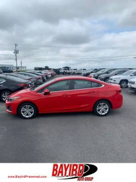 2019 Chevrolet Cruze for sale at Bayird Truck Center in Paragould AR