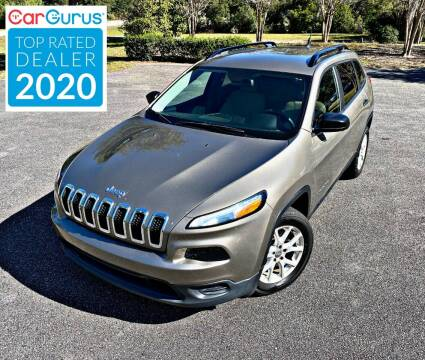 2016 Jeep Cherokee for sale at Brothers Auto Sales of Conway in Conway SC