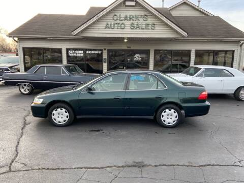 1999 Honda Accord for sale at Clarks Auto Sales in Middletown OH