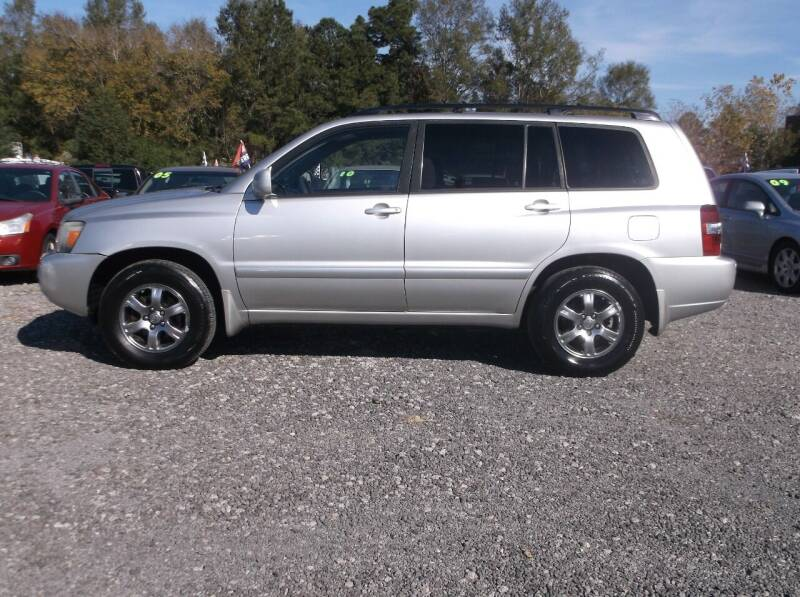 2005 Toyota Highlander for sale at Car Check Auto Sales in Conway SC
