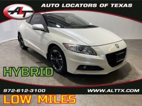 2015 Honda CR-Z for sale at AUTO LOCATORS OF TEXAS in Plano TX