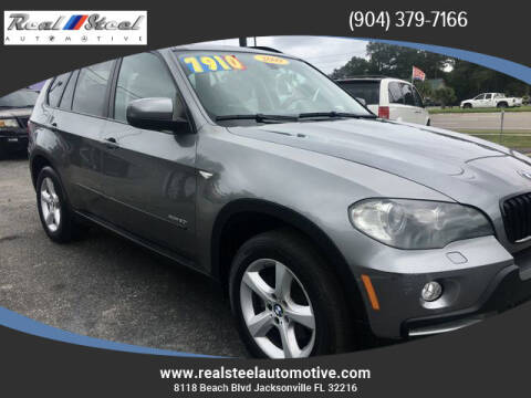 2009 BMW X5 for sale at Real Steel Automotive in Jacksonville FL