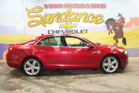 2013 Chevrolet Malibu for sale at Sundance Chevrolet in Grand Ledge MI