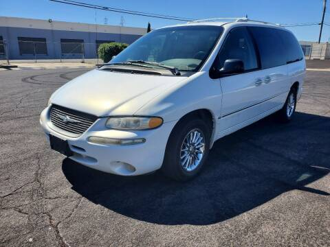 2000 Chrysler Town and Country for sale at The Auto Barn in Sacramento CA
