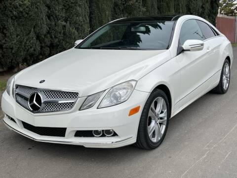 2010 Mercedes-Benz E-Class for sale at River City Auto Sales Inc in West Sacramento CA