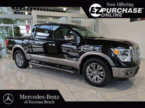 2017 Nissan Titan for sale at Mercedes-Benz of Daytona Beach in Daytona Beach FL