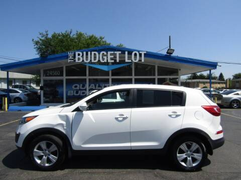 2013 Kia Sportage for sale at THE BUDGET LOT in Detroit MI