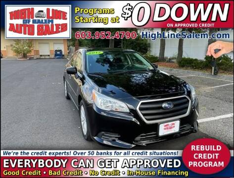 2017 Subaru Legacy for sale at High Line Auto Sales of Salem in Salem NH