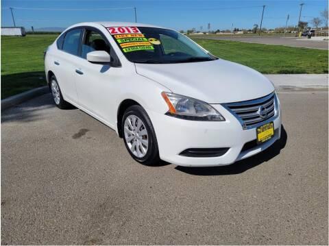 2013 Nissan Sentra for sale at D & I Auto Sales in Modesto CA