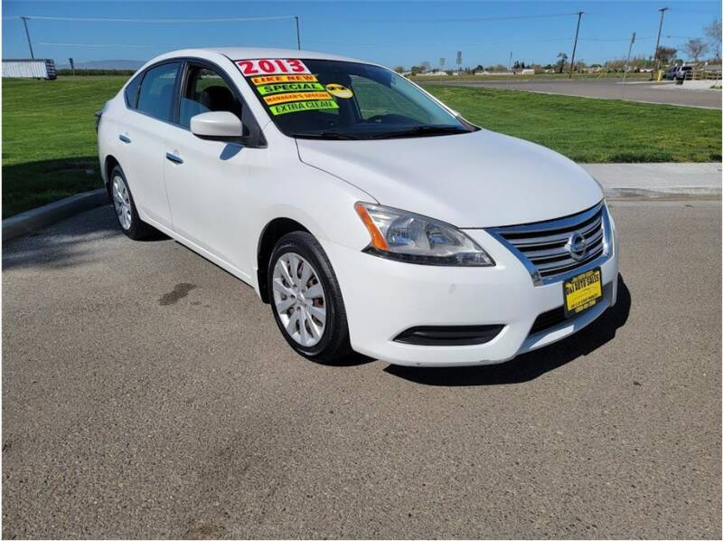 2013 Nissan Sentra for sale at D & I Auto Sales in Modesto CA