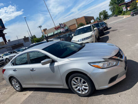 2016 Nissan Altima for sale at Sanaa Auto Sales LLC in Denver CO
