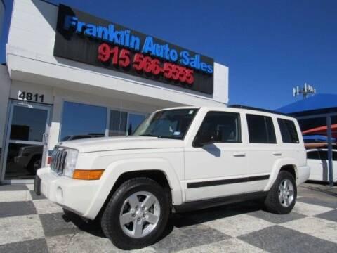 2007 Jeep Commander for sale at Franklin Auto Sales in El Paso TX