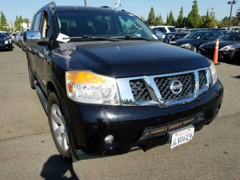 2008 Nissan Armada for sale at MCHENRY AUTO SALES in Modesto CA