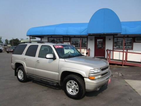 2005 Chevrolet Tahoe for sale at Jim's Cars by Priced-Rite Auto Sales in Missoula MT
