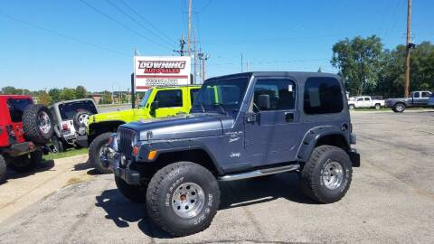 2001 Jeep Wrangler for sale at Downing Auto Sales in Des Moines IA