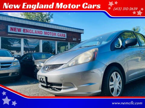 2009 Honda Fit for sale at New England Motor Cars in Springfield MA