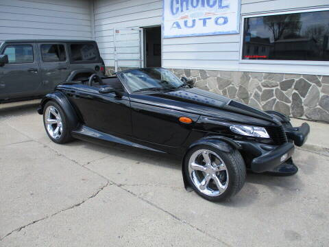 2000 Plymouth Prowler for sale at Choice Auto in Carroll IA
