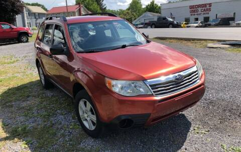 2010 Subaru Forester for sale at George's Used Cars Inc in Orbisonia PA