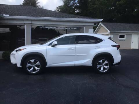 2017 Lexus NX 200t for sale at Nodine Motor Company in Inman SC