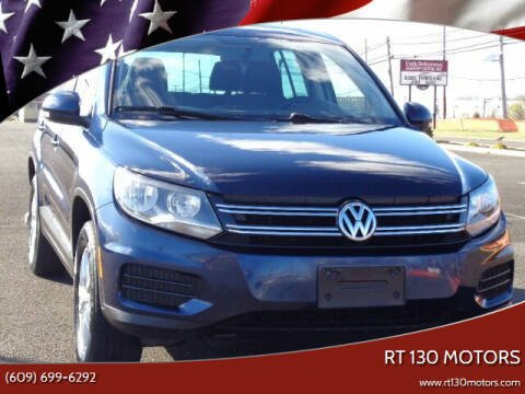 2013 Volkswagen Tiguan for sale at RT 130 Motors in Burlington NJ
