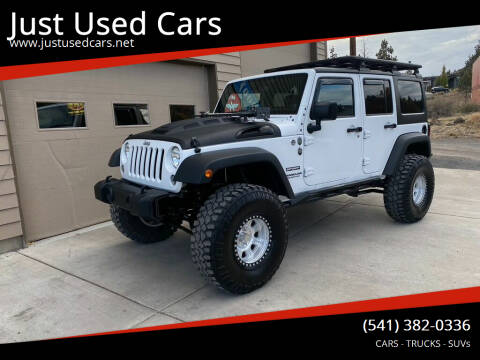 2014 Jeep Wrangler Unlimited for sale at Just Used Cars in Bend OR