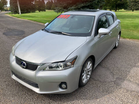 2012 Lexus CT 200h for sale at BELOW BOOK AUTO SALES in Idaho Falls ID