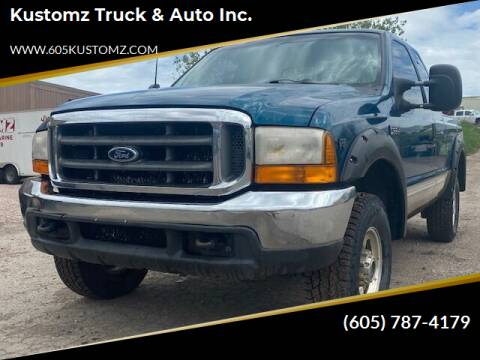 2000 Ford F-250 Super Duty for sale at Kustomz Truck & Auto Inc. in Rapid City SD
