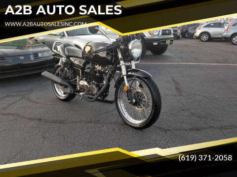 2012 CLEVELAND CYCLEWEWRKS THA MISFIT CAFE RACER for sale at A2B AUTO SALES in Chula Vista CA