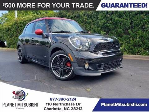 2014 MINI Countryman for sale at Planet Automotive Group in Charlotte NC