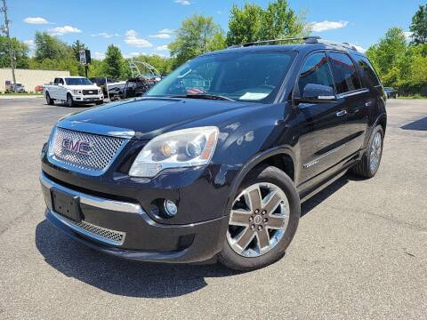 2012 GMC Acadia for sale at Cruisin' Auto Sales in Madison IN