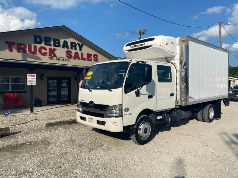 2017 Hino 195 DC / CREW CAB for sale at DEBARY TRUCK SALES in Sanford FL