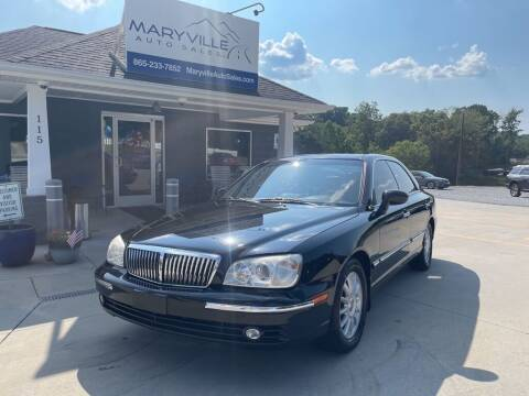 2005 Hyundai XG350 for sale at Maryville Auto Sales in Maryville TN