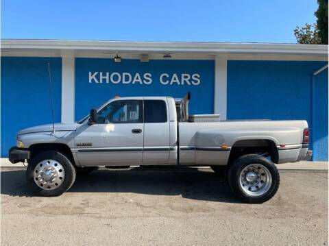 1999 Dodge Ram Pickup 3500 for sale at Khodas Cars in Gilroy CA