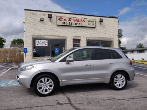2010 Acura RDX for sale at C & S SALES in Belton MO
