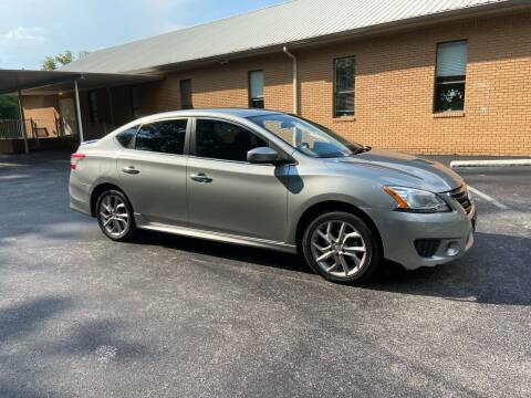 2014 Nissan Sentra for sale at Wheel Tech Motor Vehicle Sales in Maylene AL
